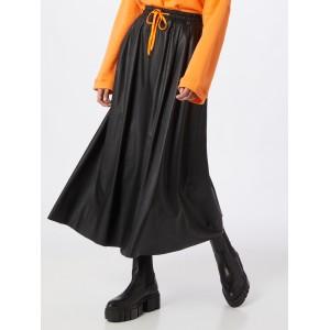 Liebesglück Rock in orange / schwarz