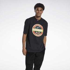 Reebok Classic Classics Graphic T-Shirt Noir
