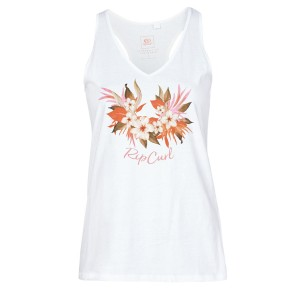 Rip Curl BRANDED FLORAL TANK Weiss